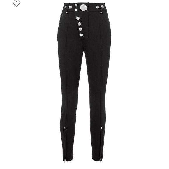 multiple colors cheap prices super cheap compares to Alexander Wang High-Waist Silver Buttons Pants
